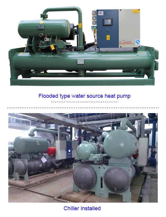 Industrial chiller application