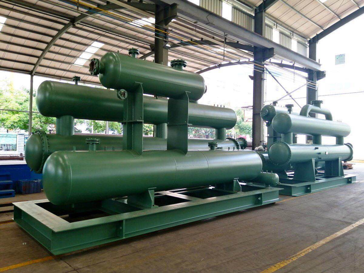 Module Shell and Tube Heat Exchanger Condenser