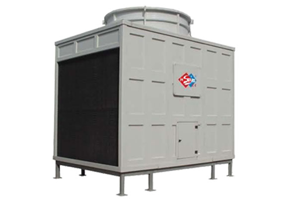 Square counter flow cooling tower