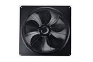 Fan for scroll chiller