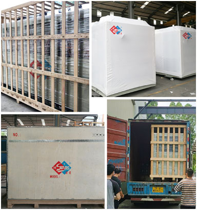 low temperature water chiller packaging